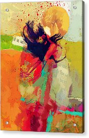 Under The Sun Acrylic Print by Corporate Art Task Force