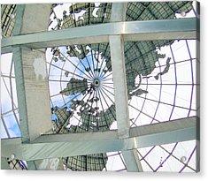 Under The Unisphere Acrylic Print by Ed Weidman