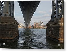 Under The Williamsburg Bridge Acrylic Print