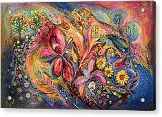 Under The Wind Acrylic Print by Elena Kotliarker
