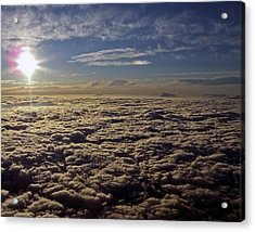 Acrylic Print featuring the photograph Undercast And Sun by Greg Reed