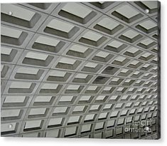 Underground. Washington Dc. Usa Acrylic Print