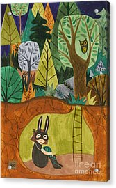 Underground Acrylic Print by Kate Cosgrove