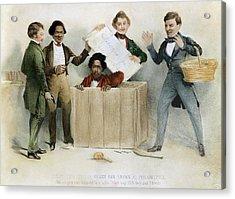 Underground Railroad, 1850 Acrylic Print