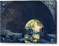 Underneath It All Acrylic Print by Laurie Search