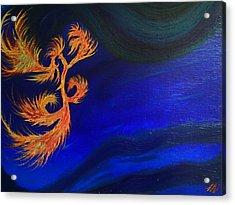 Undersea 1 Acrylic Print by Robert Nickologianis