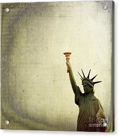 Understanding Liberty Acrylic Print by Trish Mistric