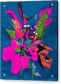 Underwater Feline Acrylic Print