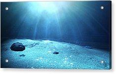 Underwater Sea Floor Acrylic Print