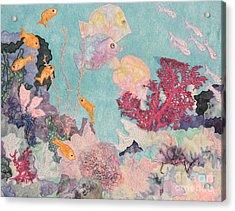 Underwater Splendor Acrylic Print by Denise Hoag