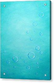 Underwater Acrylic Print by Sven Fischer