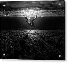 Underwaterlandream Acrylic Print by Peter Majkut