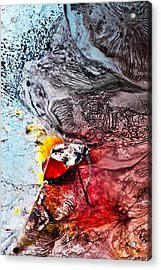 Underworld Feeding Ground Acrylic Print by Petros Yiannakas