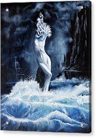 Undine Acrylic Print by James Kruse