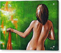 Undressed Acrylic Print