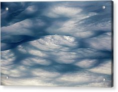 Undulatus Asperatus Cloud Formation Acrylic Print by Laurent Laveder