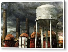 Uneasy Day Acrylic Print by Davina Washington