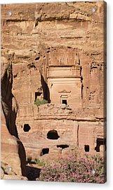 Uneishu Tomb, Petra, Jordan (unesco Acrylic Print by Keren Su