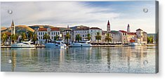 Unesco Town Of Trogit View Acrylic Print