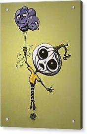 Unexpected Helium Acrylic Print by Sara Coolidge