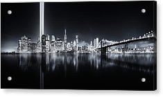 Unforgettable 9-11 Acrylic Print by Javier De La