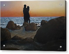 Unforgettable Acrylic Print by C Michael French