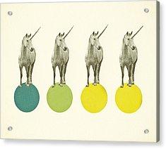 Unicorn Parade Acrylic Print