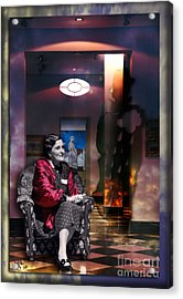 Uninvited Guest Acrylic Print