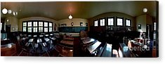 Acrylic Print featuring the photograph Union  Illinois One Room School House by Tom Jelen