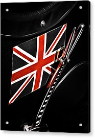 Union Jack Acrylic Print by Phil 'motography' Clark