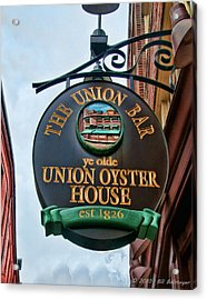 Union Oyster House  Acrylic Print by Bill