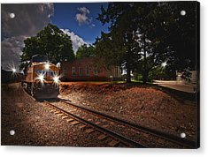 Union Pacific 7917 Train Acrylic Print