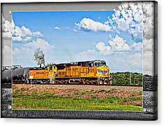 Union Pacific Railroad 2 Acrylic Print