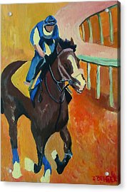 Union Rags Kentucky Derby  Acrylic Print