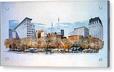 Union Square Nyc Acrylic Print