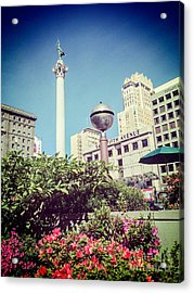 Union Square San Francisco Acrylic Print