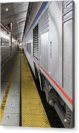 Union Station Amtrak Platform Acrylic Print