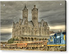 Union Station Acrylic Print by Brett Engle