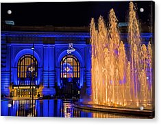Union Station Celebrates The Royals Acrylic Print