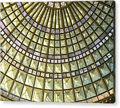 Union Station Skylight Acrylic Print by Karyn Robinson