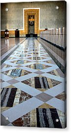 Union Station Ticket Counter Acrylic Print