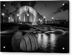 Union Terminal At Night Acrylic Print