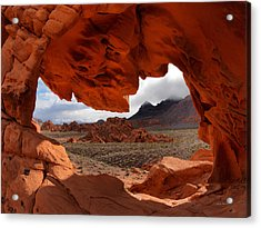 Unique Arch Nevada Acrylic Print by Leland D Howard