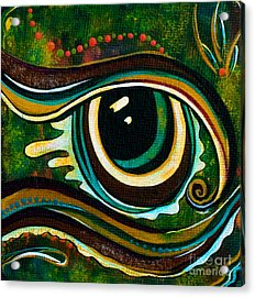 Unique Spirit Eye Acrylic Print by Deborha Kerr