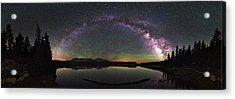 Unitas Milky Way Acrylic Print by Andrew Fritz