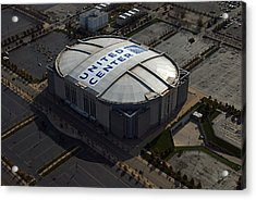 United Center Chicago Sports 09 Acrylic Print by Thomas Woolworth