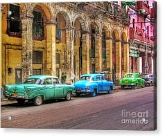 United Colors Of Coches Habaneros Acrylic Print