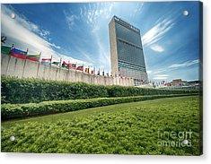 United Nations Acrylic Print