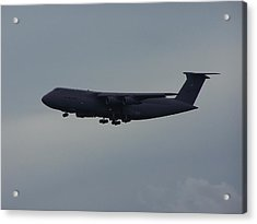 Acrylic Print featuring the photograph United State Air Force by Michele Kaiser