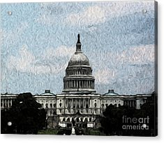 United State Capitol Acrylic Print